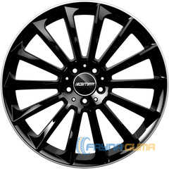 Купить Легковой диск GMP Italia STELLAR Shiny Black Diamond Lip R21 W9 PCD5x110 ET30 DIA65,1