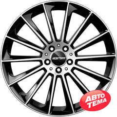 Купить Легковой диск GMP Italia STELLAR Black Diamond R18 W8 PCD5x112 ET38 DIA66,6