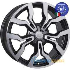 WSP ITALY MEDEA W565 DULL BLACK POLISHED -