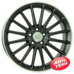 Купить WSP ITALY MERCEDES SHANGHAI DULL BLACK R POLISHED W773 R19 W9.5 PCD5x112 ET48 DIA66.6