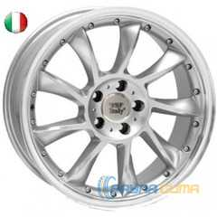 Купить WSP ITALY MADRID ME29 W729 SILVER POLISHED LIP R20 W9.5 PCD5x112 ET35 DIA66.6
