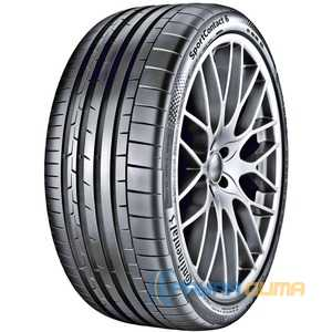 Купить Летняя шина CONTINENTAL SportContact 6 315/35R21 111Y RUN FLAT