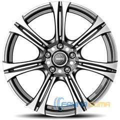 Купить MOMO NEXT EVO ANTHRACITE MATT POLISHED R17 W8 PCD5x112 ET48 DIA72.3