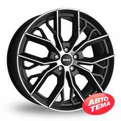 Купить Легковой диск MOMO Massimo Black Matt Polished R17 W7.5 PCD5x114.3 ET40 DIA72.3