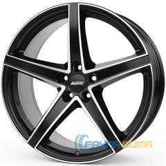Легковой диск ALUTEC Raptr Racing Black Front Polished -