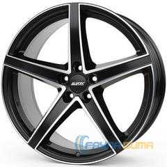 Купить Легковой диск ALUTEC Raptr Racing Black Front Polished R19 W8 PCD5x108 ET45 DIA70.1