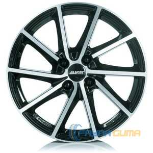 Купить Легковой диск ALUTEC Singa Diamond Black Front Polished R15 W6 PCD5x114.3 ET46 DIA67.1