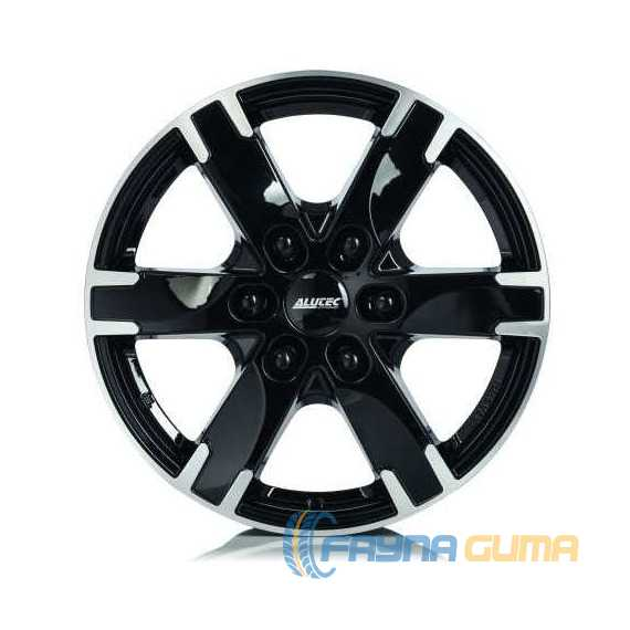 Легковой диск ALUTEC Titan Diamond Black Front Polished -
