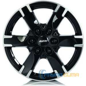 Купить Легковой диск ALUTEC Titan Diamond Black​ Front Polished R18 W8 PCD6x114.3 ET38 DIA66.1