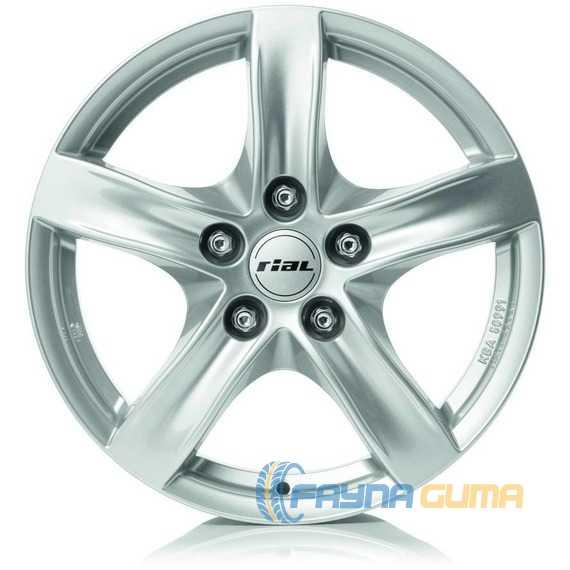 Купить Легковой диск RIAL Arktis Polar Silver R17 W7.5 PCD5x114.3 ET52 DIA67.1