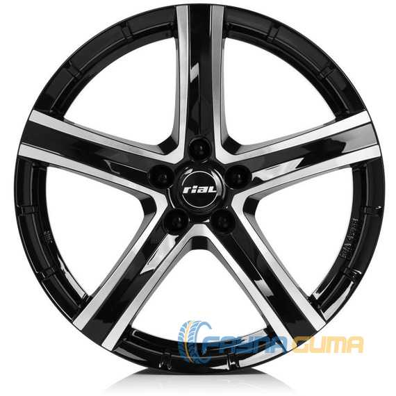 RIAL QUINTO Diamond Black Front Polished -