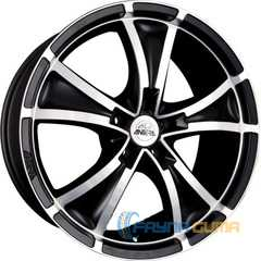 Купить ANTERA 383 Matt Black Diamond Cut R19 W9.5 PCD5x112 ET40 DIA75