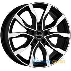 Купить MAK KOLN Black Mirror R20 W8.5 PCD5x112 ET32 DIA66.45