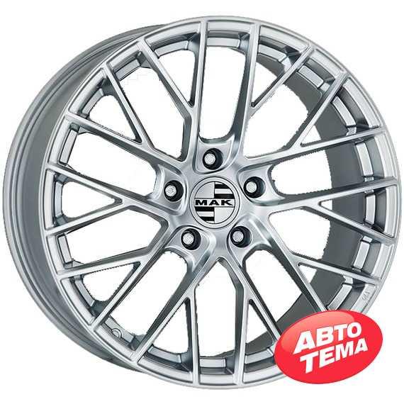 Купить Легковой диск MAK Monaco-D Silver R20 W11 PCD5x130 ET66 DIA71.6