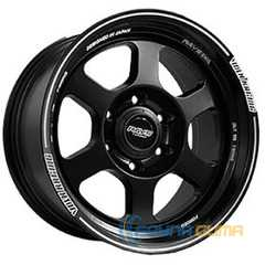 Купить Off Road Wheels OW6025 MATT BLACK WITH LIP LINE R17 W8 PCD6x139.7 ET0.00 DIA110