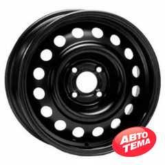 Купить Легковой диск STEEL TREBL 64A49A BLACK R15 W6 PCD4X100 ET49 DIA56.6