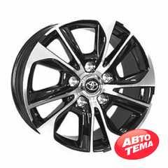 Купить Легковой диск REPLICA TY789 BKF R20 W8.5 PCD5X150 ET58 DIA110.1