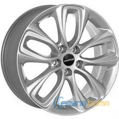 Купить JH 5599 SILVER R17 W7.5 PCD5x105 ET44 DIA56.6
