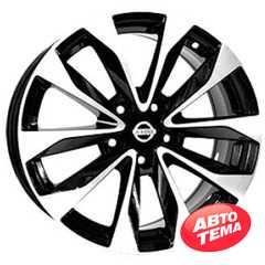 Купить Легковой диск Replica LegeArtis NS5515 BKF R19 W8 PCD5X114.3 ET50 DIA66.1