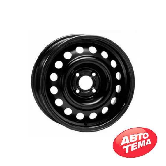 Купить Легковой диск STEEL TREBL X40029 BLACK R15 W6 PCD5X100 ET40 DIA57.1