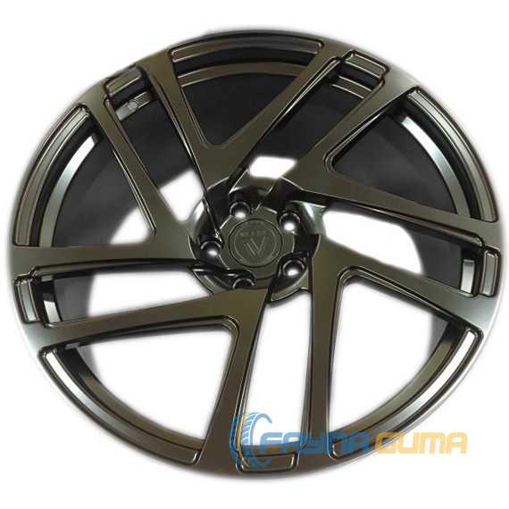 Легковой диск VISSOL Forged F-906 SATIN BLACK -