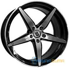 CAST WHEELS CW636 BKF -