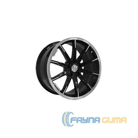 REPLICA FORGED MR1115C GLOSS BLACK WITH MACHINED FACE FORGED -