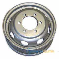 Легковой диск ДОРОЖНАЯ КАРТА Газ 3302 Iveco (Серебристый металлик) -