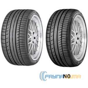 Купить Летняя шина CONTINENTAL ContiSportContact 5 255/45R22 107Y