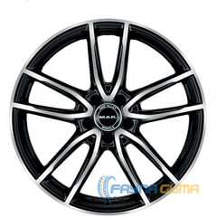 Купить Легковой диск MAK Evo Black Mirror R17 W7.5 PCD5x112 ET40 DIA66.6