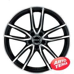 Купить Легковой диск MAK Evo Black Mirror R18 W8 PCD5x112 ET33 DIA66.6