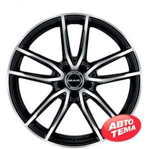 Купить Легковой диск MAK Evo Black Mirror R18 W9 PCD5x112 ET42 DIA66.6
