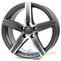 Купить Легковой диск MOMO Hyperstar Evo Anthracite Matt Polished R18 W8 PCD5x120 ET35 DIA79.6