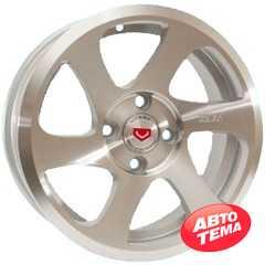 Купить Легковой диск GT 633 SM R14 W6 PCD4x98 ET30 DIA58.6