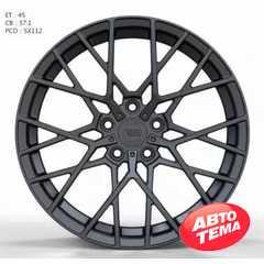 Купить Легковой диск WS FORGED WS1244 MATTE_GUNMETALL_FORGED R18 W8 PCD5X112 ET45 DIA57.1