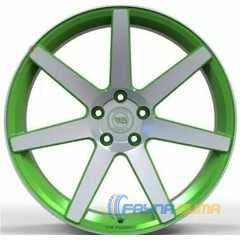 Купить Легковой диск WS FORGED WS1245 MATTE_GREEN_WITH_MACHINED_FACE_FORGED R20 W9.5 PCD5X115 ET18 DIA71.6