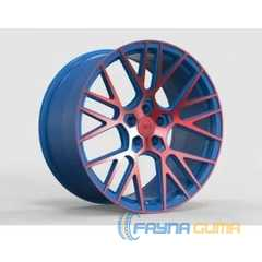 Купить Легковой диск WS FORGED WS2106 MATTE_BLUE(INSIDE)_WITH_RED(OUTSIDE)_FACE_FORGED R20 W10.5 PCD5X114.3 ET45 DIA70.5