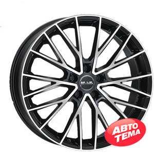 Купить Легковой диск MAK Speciale-D Black Mirror R22 W11.5 PCD5x112 ET43 DIA66.6