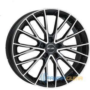 Купить Легковой диск MAK Speciale Black Mirror R22 W10 PCD5x114.3 ET42 DIA67.1
