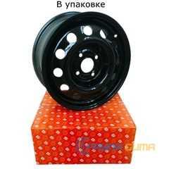 Купить Легковой диск ДОРОЖНАЯ КАРТА Chevrolet Lacetti Black R15 W6 PCD4x114.3 ET45 DIA56.6