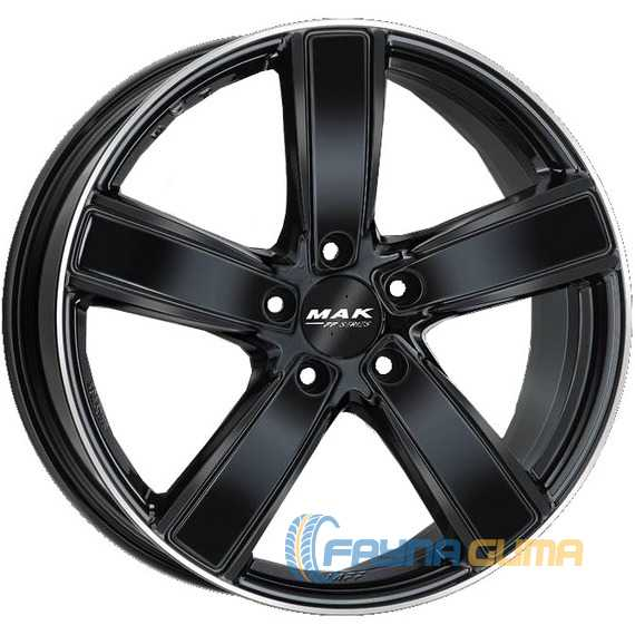 Купить Легковой диск MAK Turismo-FF Gloss Black Mirror Ring R20 W9 PCD5x112 ET26 DIA66.45