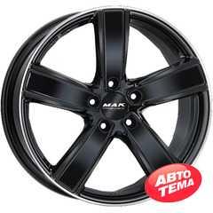 Купить Легковой диск MAK Turismo-FF Gloss Black Mirror Ring R21 W9.5 PCD5x130 ET46 DIA71.6