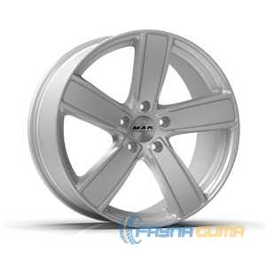 Купить Легковой диск MAK Turismo-FF Silver R21 W9.5 PCD5x130 ET46 DIA71.6