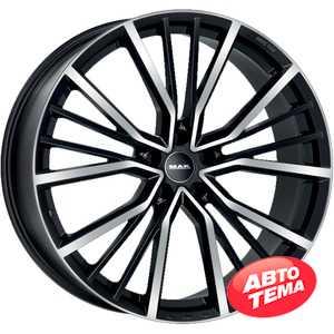 Купить Легковой диск MAK Union Black Mirror R22 W10 PCD5x112 ET32 DIA66.45