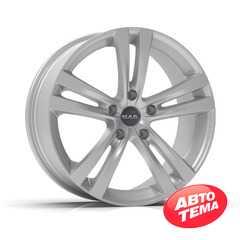 Купить Легковой диск MAK Zenith Hyper Silver R14 W4.5 PCD4x100 ET39 DIA54.1