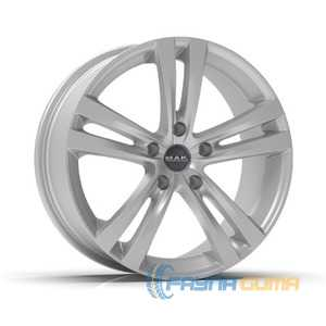 Купить Легковой диск MAK Zenith Hyper Silver R15 W6.5 PCD4x108 ET45 DIA72