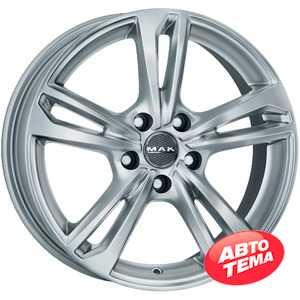 Купить Легковой диск MAK Emblema Silver R15 W6 PCD5x100 ET38 DIA57.1