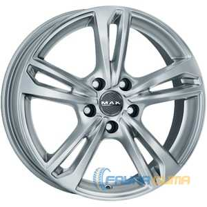 Купить Легковой диск MAK Emblema Silver R17 W7 PCD5x105 ET42 DIA56.6