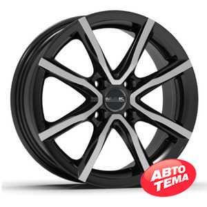 Купить Легковой диск MAK Milano 4 Black Mirror R17 W7 PCD4x108 ET42 DIA63.4