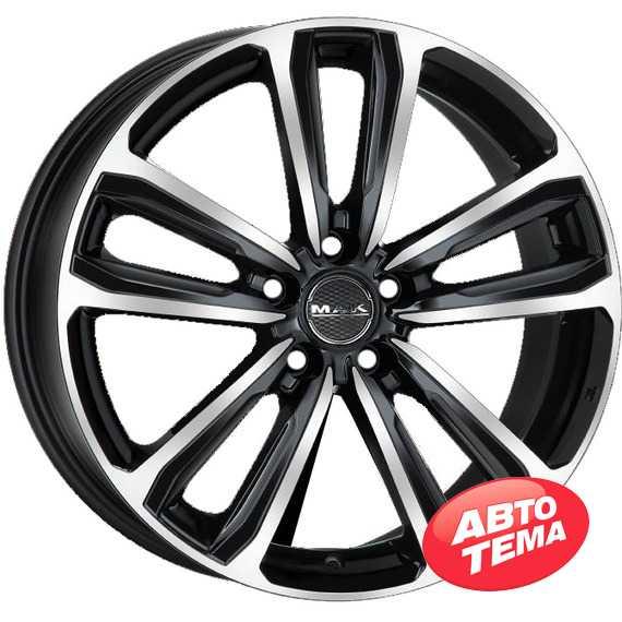 Купить Легковой диск MAK Magma Black Mirror R17 W7 PCD5x100 ET46 DIA57.1